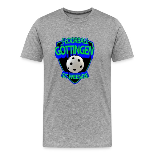 SCW Floorball Logo - Männer Premium T-Shirt
