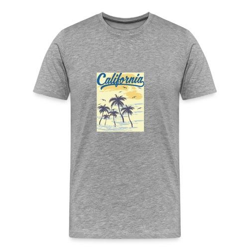 California Transparent - T-shirt Premium Homme