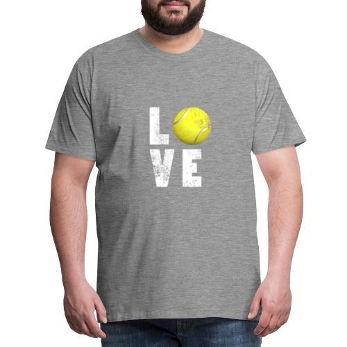 LoveTennis Shirt Ideal Gift For Tennis Players - Camiseta premium hombre