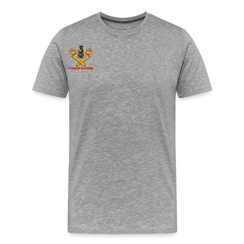 PlasmaBlazerLogo - Men's Premium T-Shirt