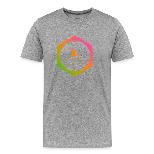 logo transparent - Premium T-skjorte for menn