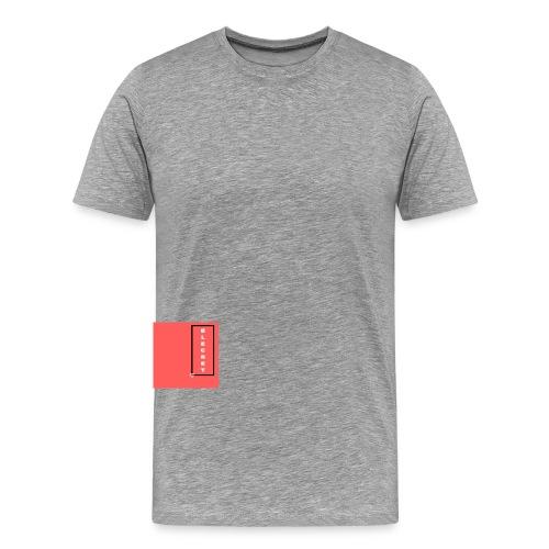 BLECRET - Salmon - Men's Premium T-Shirt