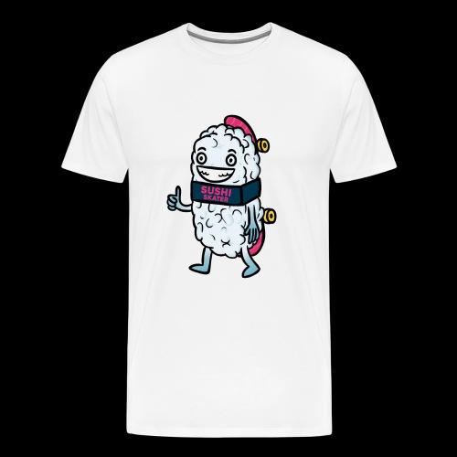 Sushi Skater foodcontest - Maglietta Premium da uomo