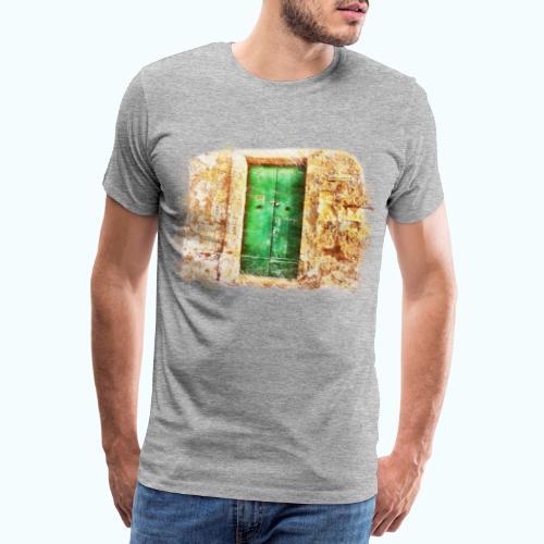 Vintage door - Men's Premium T-Shirt