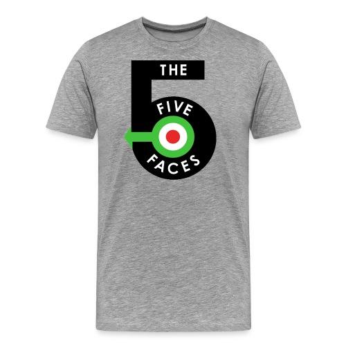 T5F OLD Logo Tshirt Transparent png - Men's Premium T-Shirt