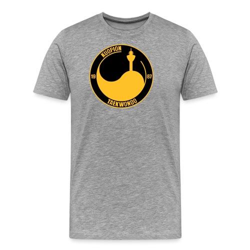 kuo tkd logo2017 brodeera - Miesten premium t-paita