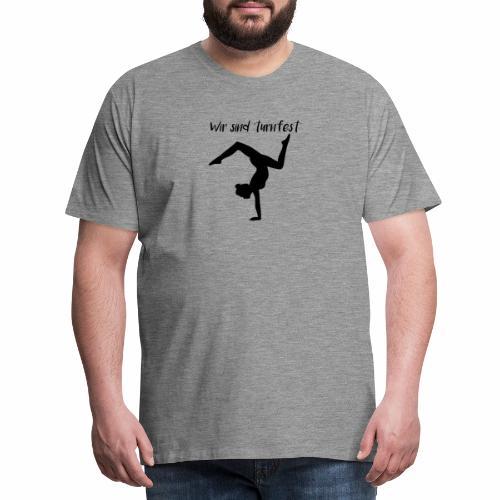 wir sind turnfest - Männer Premium T-Shirt