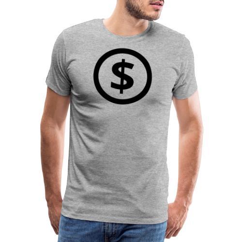 Dollar - Männer Premium T-Shirt