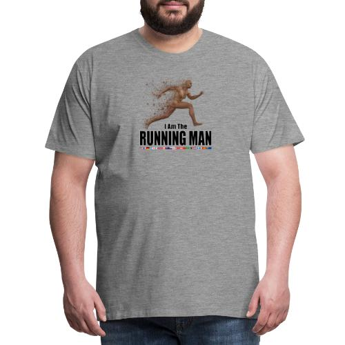 I am the Running Man - Sportswear for real men - Men's Premium T-Shirt