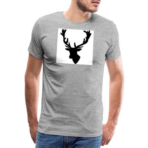 Hirch B - Männer Premium T-Shirt