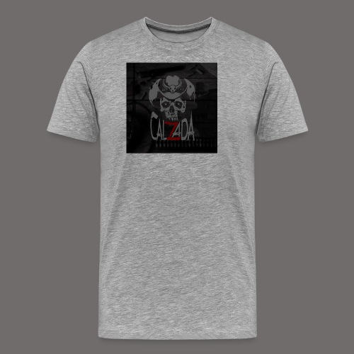 Calzada skull - Premium T-skjorte for menn