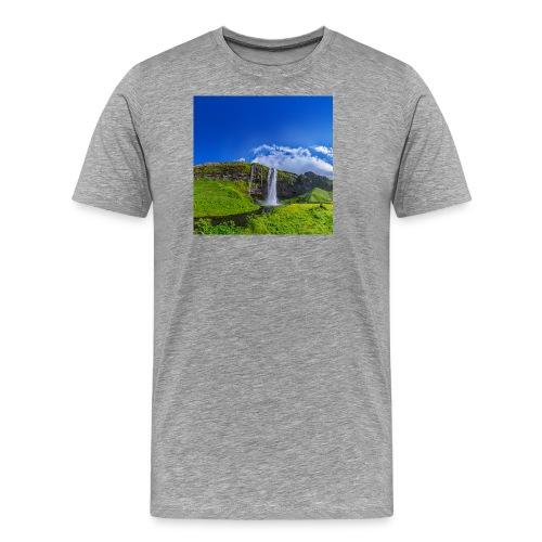 Seljalandsfoss - Männer Premium T-Shirt