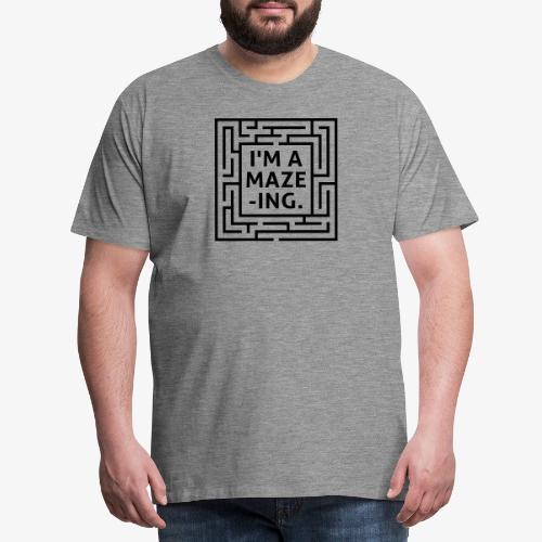 A maze -ING. Die Ingenieurs-Persönlichkeit. - Männer Premium T-Shirt