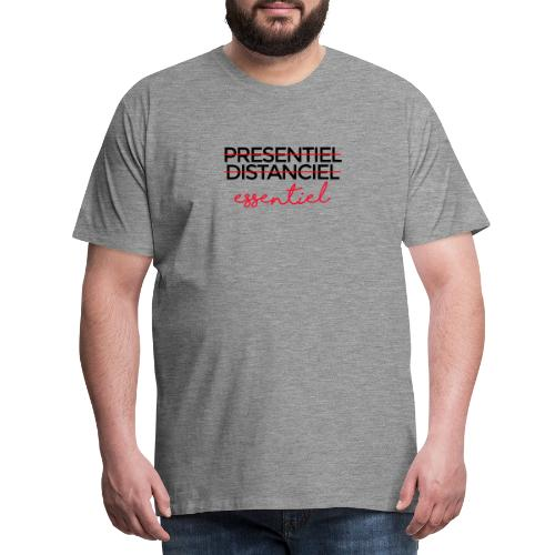 Présentiel Distanciel Essentiel - T-shirt Premium Homme