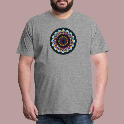 Grainy Flower - Männer Premium T-Shirt