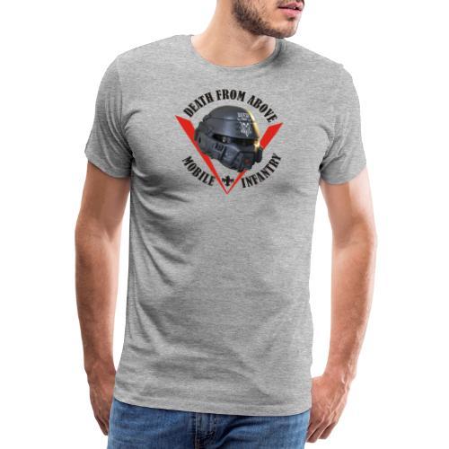 death from above dark - Männer Premium T-Shirt