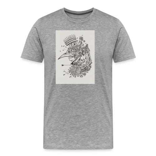 Nature de l'homme - T-shirt Premium Homme