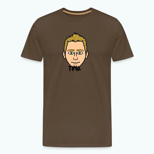 Logo TIMO. - Mannen Premium T-shirt
