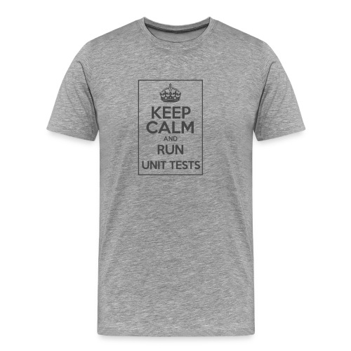 Run Unit Tests - Men's Premium T-Shirt