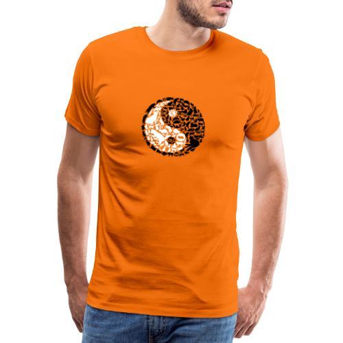 YinYang Cats - Männer Premium T-Shirt