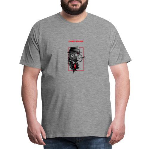 Chimp Bosses Mafia - Männer Premium T-Shirt