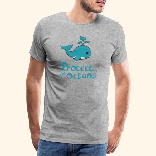 Protèges les océans - T-shirt Premium Homme