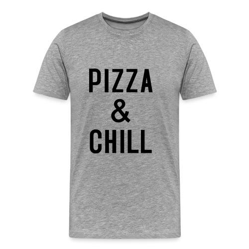 PIZZA & CHILL - Männer Premium T-Shirt