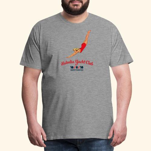 Limited Ed: Stupedame <3 Holmlia Yacht Club - Premium T-skjorte for menn