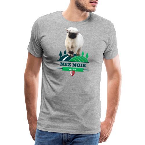 Mouton du Valais - Nez noir - Männer Premium T-Shirt