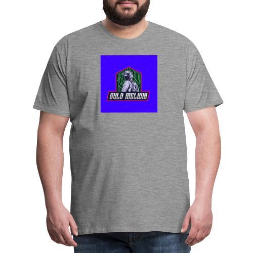 Guld Melwin - Premium-T-shirt herr