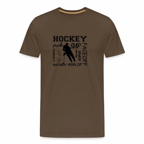 Puck slap victory - T-shirt Premium Homme