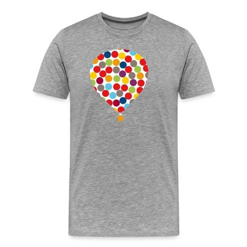InklusionsBallon - Männer Premium T-Shirt