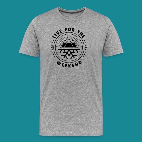 Snowflake Mountain - Men's Premium T-Shirt