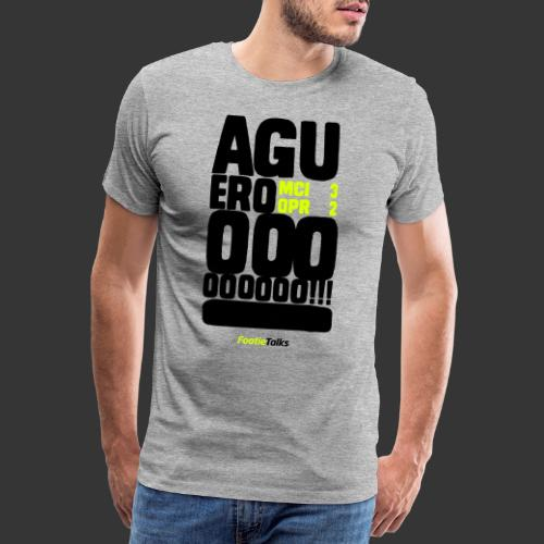 FootieTalks® Aguerrrrroo! - Men's Premium T-Shirt