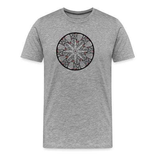 Architecture à l'envers - T-shirt Premium Homme