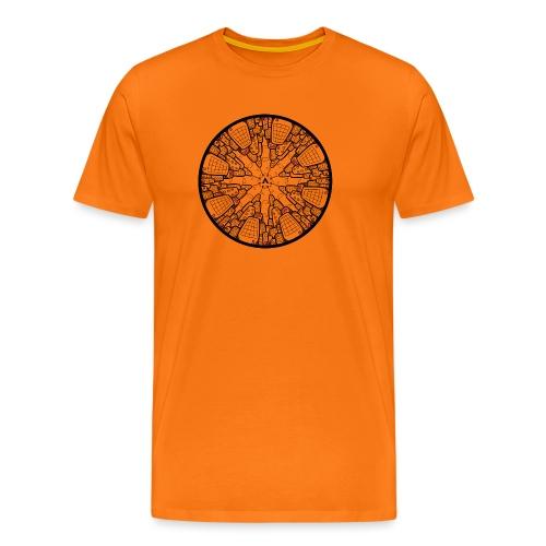 Architectuur Binnenstebuiten - T-shirt Premium Homme