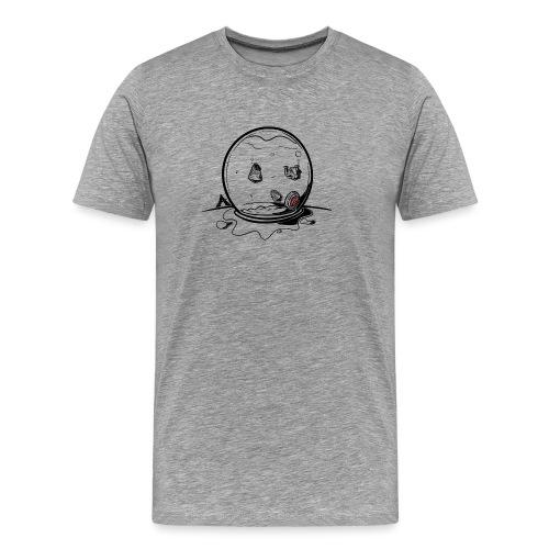 Maison de pot de poisson - T-shirt Premium Homme