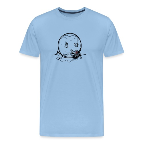 Visbokaal Huis - T-shirt Premium Homme
