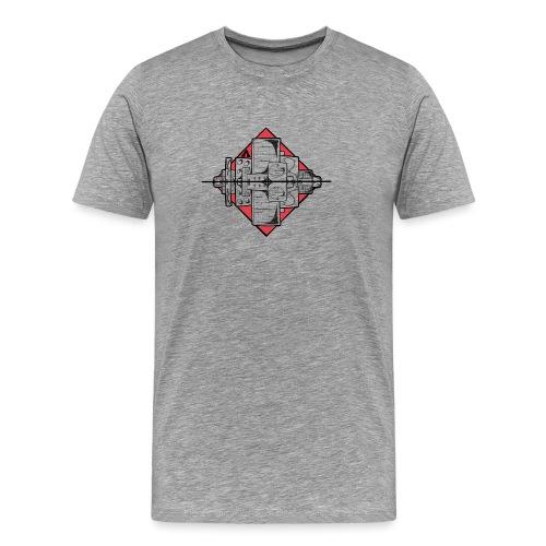 Horizon architectiuur - T-shirt Premium Homme
