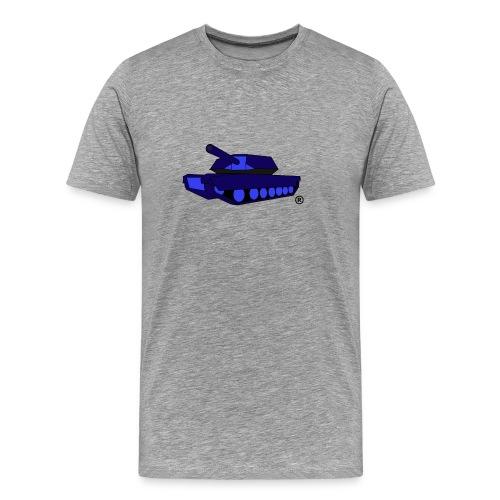 BLUE TANK png - Men's Premium T-Shirt