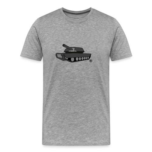 GREY TANK png - Men's Premium T-Shirt