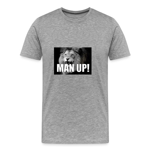 Man up - Premium T-skjorte for menn