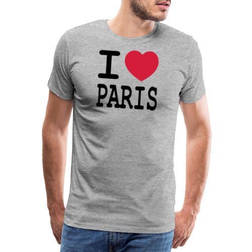 I love Paris - Mannen Premium T-shirt
