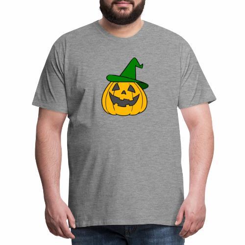 Halloween citrouille - T-shirt Premium Homme