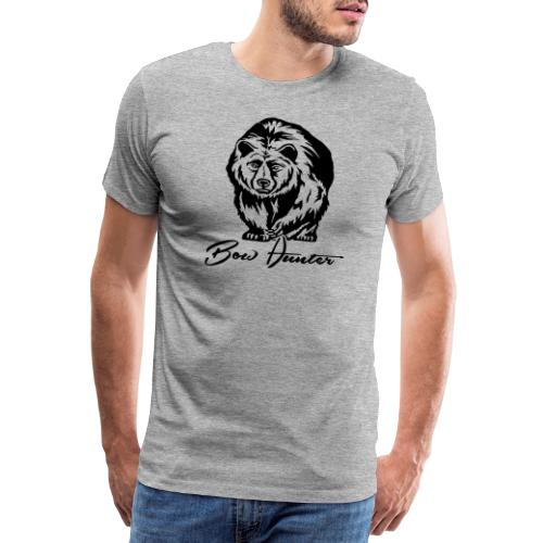 Bear Bowhunter - Männer Premium T-Shirt
