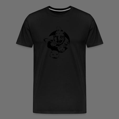 Professional Gambler (1c musta) - Miesten premium t-paita