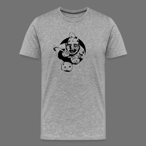 Profesjonalne Gambler (1c czarny) - Koszulka męska Premium