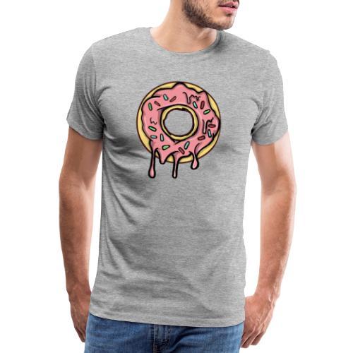 Doughnut - Premium-T-shirt herr
