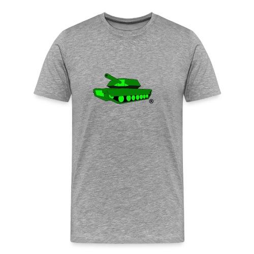 GREEN TANK png - Men's Premium T-Shirt