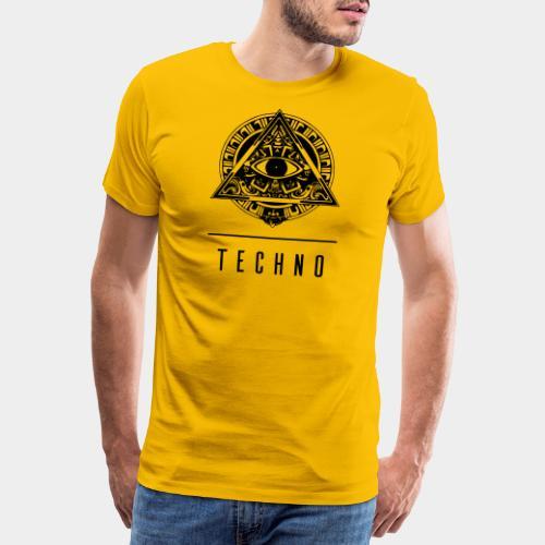 the EYE of TECHNO - Männer Premium T-Shirt